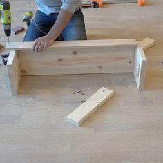 Wood Storage Crates - RYOBI Nation Projects Diy Storage Crate, Storage Shed Organization, Wood Storage, Storage Bins, Homemade Modern, Plastic Storage, Palette, Woodworking Crafts, Wood Projects
