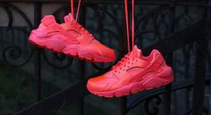 new style 978dc a704f Nike Air Huarache Hot Lava Nike Running, Nike Free Runs, Nike Fashion,  Sneakers