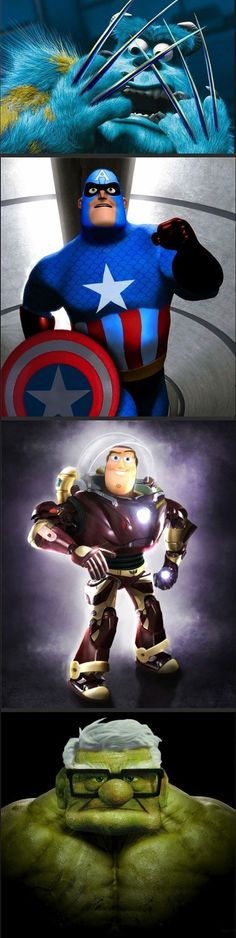 Visit http://noseriously.org for more/  Awesome Avengers And Disney Mashup