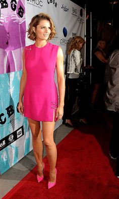 "Stana Katic at the screening of ""CBGB"" at the Arclight Theatre on October 1, 2013 in Los Angeles, California"
