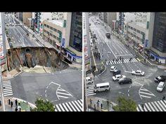 海外「博多駅前の道路陥没…たった1週間で復旧ってジョークだろう!?」