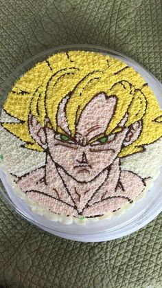 Goku cake - Visit now for 3D Dragon Ball Z compression shirts now on sale! #dragonball #dbz #dragonballsuper