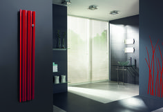 Radiator Mango - Get inspired by this bold and good looking project for modern bathroom.