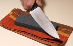 Thanksgiving Tip: How to Sharpen a Knife >> http://blog.diynetwork.com/maderemade/2014/11/17/the-cutting-edge-how-to-sharpen-a-knife/?soc=pinterest