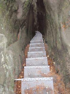 klettersteig.de - Klettersteig-Beschreibung - Hermannseck / Wolfsschlucht