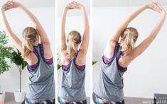Nackenschmerzen Übungen. Tipps und Tricks gegen einen verspannten Nacken