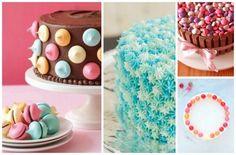 14 σούπερ πανεύκολες ιδέες για να διακοσμήσετε μια τούρτα γενεθλίων