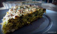 Νόστιμη σπανακόπιτα της τεμπέλας με σιμιγδάλι - Newsbomb Cookie Dough Pie, Spanakopita, Meatloaf, Lasagna, Banana Bread, Cookies, Ethnic Recipes, Desserts, Food