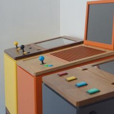 Diy Arcade Cabinet, Machine Project, Arcade Room, Arcade Machine, Ping Pong Table, Compact, Tokyo, Google Search, Projects