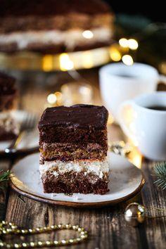 Ciasto Sułtan przepis Polish Recipes, My Recipes, Sweet Recipes, Cake Recipes, Dessert Recipes, Cooking Recipes, Favorite Recipes, Bread Recipes, Recipes Dinner