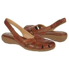 Naturalizer Cyrus Shoe in Cognac Leather