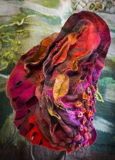 Felt Textile Art: Françoise Christien to Quilt in South