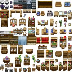 Rpg Maker Vx, Solid Games, Isometric Map, Video Game Sprites, Digital Texture, Pixel Art Games, Fantasy Map, Game Item, Dungeons And Dragons
