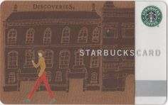 Discoveries Starbucks Card - Japan 2010