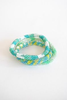 Best Bracelet Perles 2017/ 2018 : green lily and laura...