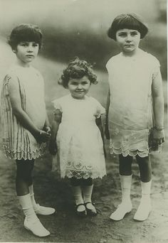 King Fouad's daughters
