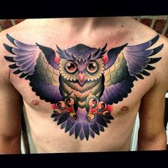 Awesome Owl Tattoo Design For All Time, In respect to placement, owl tattoos are incredibly flexible. If you're selecting an owl tattoo, you're probably going to have to discover the ideal d. Owl Skull Tattoos, Mens Owl Tattoo, Tattoos 3d, Bild Tattoos, Tattoos For Guys, Sleeve Tattoos, Tattoos For Women, Tattoo Owl, Tattoo Time