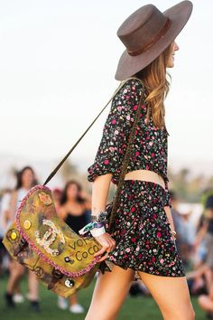 The best street style looks from Coachella