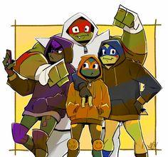 Dope Cartoons, Dope Cartoon Art, Tmnt 2012, Ninja Turtles Art, Teenage Mutant Ninja Turtles, Tmnt Human, Tmnt Swag, Naruto, Cartoon Shows