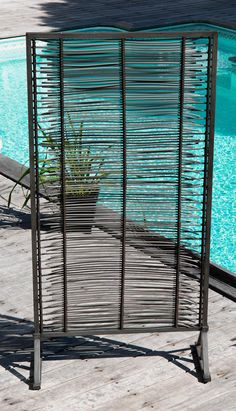 nomaade paravent en bois claustra sur mesure. Black Bedroom Furniture Sets. Home Design Ideas
