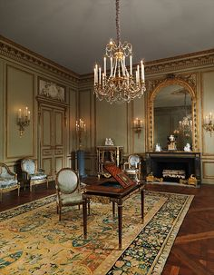 Grand Salon from the Hôtel de Tessé, Paris made by Nicolas Huyot Date: ca. with later additions Culture: French, Paris Chinoiserie, Luis Xvi, Maker Culture, Classic Interior, Neoclassical, Art Object, Beautiful Interiors, French Interiors, Art Deco