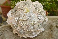 Affordable Brooch Bouquets - Wedding Inspirations