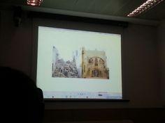 Casa de familiares del profesor Asiadi destruida por la guerra.
