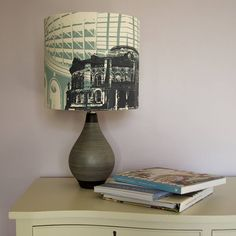 Leeds Corn Exchange Hand Printed Lampshade by WEFT Bespoke Design, the perfect gift for Explore more unique gifts in our curated marketplace. Leeds Corn Exchange, World Map Mural, Dome Ceiling, Jewelry Roll, Bespoke Design, Silk Screen Printing, Vinyl Wall Stickers, Lamp Bases, Bulb