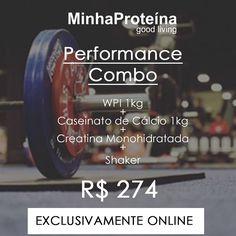 Boa noite  somente Online : http://ift.tt/1IyHXGY  http://ift.tt/1U0sdCe - DOUBLE DISCOUNT -  Preço total Original de todos os produtos R$562  Preço de venda R$274  WPI - Whey Protein Isolado - ISOPURE - 1Kg  Caseinato de Cálcio - 1Kg  Creatina Monohidratada 300g - SEM SABOR  Shaker MinhaProteína  Todos os produtos absolutamentente PUROS como sempre e enviados no mesmo dia.