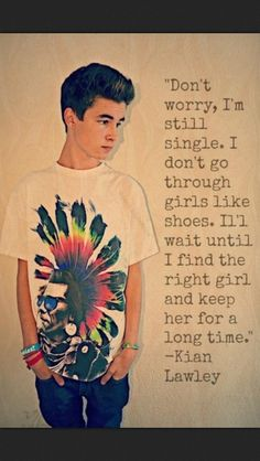 He would be the perfect boyfriend, ugh you're one lucky girl andrea russett Kian Lawley Quotes, Lawley Kian, O2l Quotes, Fandom Quotes, Qoutes, Life Quotes, Kian Lawly, Youtube Quotes, Trevor Moran