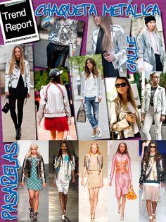 Chaqueta métalica/ metallic    CoolTown Fashion