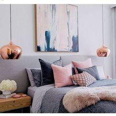 15 Best Ideas Para Decorar Una Habitacion En Rosa Y Gris Images On - Ideas-para-decorar-la-habitacin