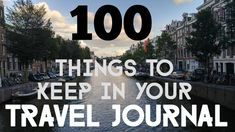 100 Things to Keep in your Travel Journal -The Student Traveler - Just when you thought you were out of ideas for what to keep in your travel journal! … Continue r - Travel Guides, Travel Tips, Travel Destinations, Travel Advice, Budget Travel, Best Travel Journals, Travel Books, Travel Stuff, Travel Crafts