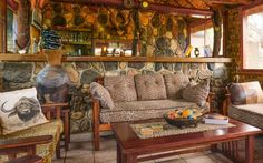 Baluleni Safari Lodge in the Limpopo Province shares an open border with the Kruger Park itself allowing wildlife to roam unobstructed between the nature reserve and the national park. Kruger National Park, National Parks, Nature Reserve, Lodges, South Africa, Safari, Wildlife, Home Decor, Cabins