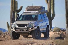 You won't find this Lexus at the local Country Club on the weekend. Built for remote off-road travel, this turnkey is ready for adventure. Land Cruiser 120, Toyota Land Cruiser Prado, Fj Cruiser, Overland Tacoma, Overland Truck, Toyota Sequioa, Lexus Gx470, Expedition Vehicle, 4x4 Trucks