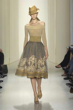 Cappuccino & gold dress / sukienka w odcieniach cappuccino łączona ze złotem