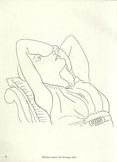 Henri Matisse - Sleeping woman, 1936