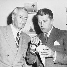 Heinz Haber and Wernher von Braun