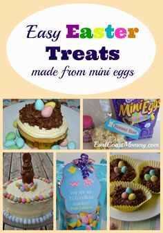 These are all awesome! Who doesn't love mini eggs?