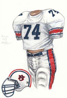 1993 Auburn uniform