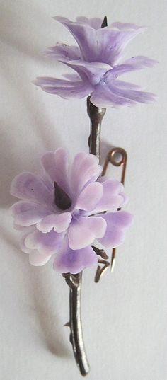 DDR Anstecknadel Plasteblume vom Frauentag | eBay