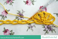 Beautiful Stitch With Photo Tutorial and Diagram | Beautiful Crochet Stuff