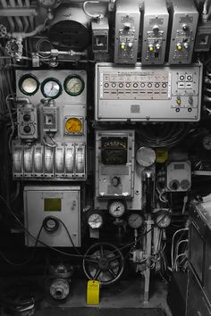 Submarine Controls | by Eric Kilby