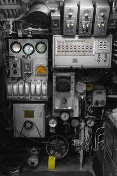 Submarine Controls | by Eric Kilby