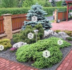 Shrubs For Landscaping, Front House Landscaping, Outdoor Garden Decor, Outdoor Gardens, Front Yard Garden Design, Small Garden Landscape, Beautiful Flowers Garden, Garden Planning, Decoration