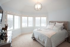 The meticulous details continue to the second story, with 3 bedrooms each featuring a private bath.