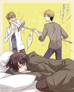 Junta And Takato Comic Anime, Otaku Anime, Manga Anime, Cute Anime Boy, Anime Love, Desenhos Love, Handsome Anime Guys, Haikyuu Yaoi, Manhwa Manga