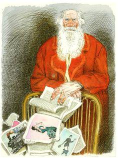 Tullio Pericoli - Lev Tolstoj