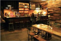 136 best Bar Designs and Layouts images on Pinterest | Cafe design ...