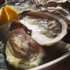 (instagram- jordanwhoaa) I like food, oysters look SO GROSS but taste amazing!